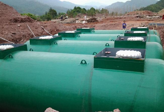 中国石化加油站双层油罐