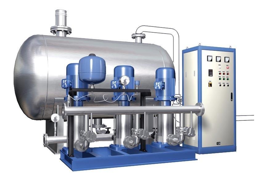 浅谈无负压供水设备工作中容易出现的几个问题